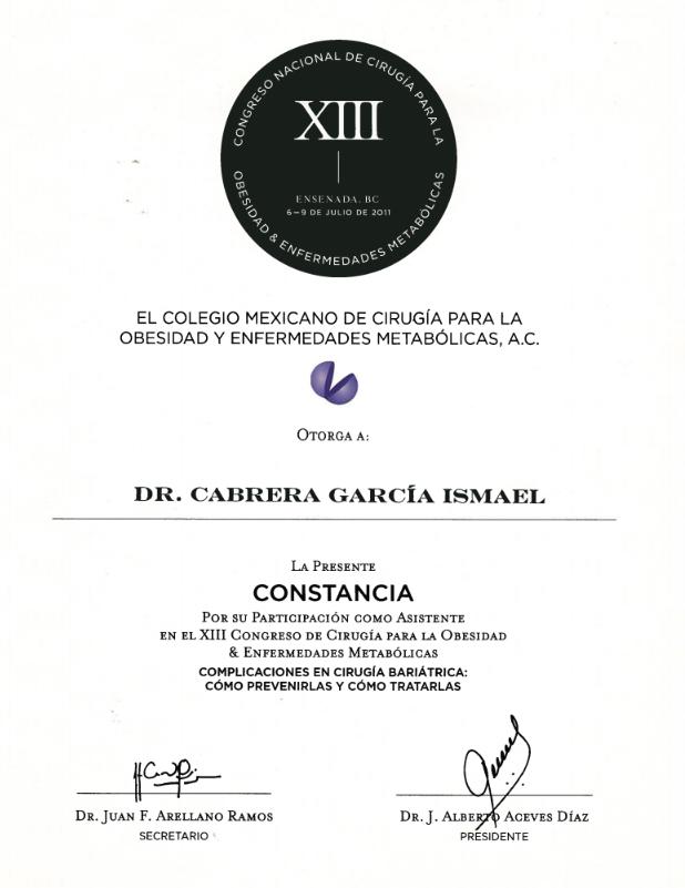 Dr.-Ismael-Cabrera-Garcia-El-Colegio-Mexicano-La-Presente-Constancia-Certification