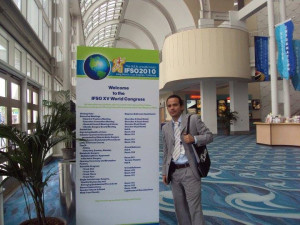 Dr. Ismael Cabrera, MD at the FISO 2010 Conference.