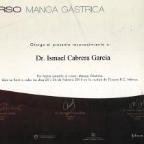 Dr. Ismael Cabrera Garcia – Curso Manga Gastrica
