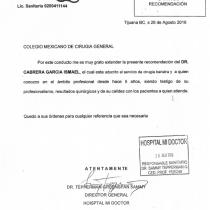 Dr. Ismael Cabrera Garcia – Hospital Mi Doctor – Colegio Mexicano De Cirugia